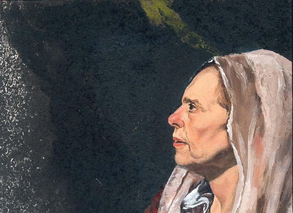 Àvia de Vieja friendo huevos de Velázquez (col. Josep i Loreto)