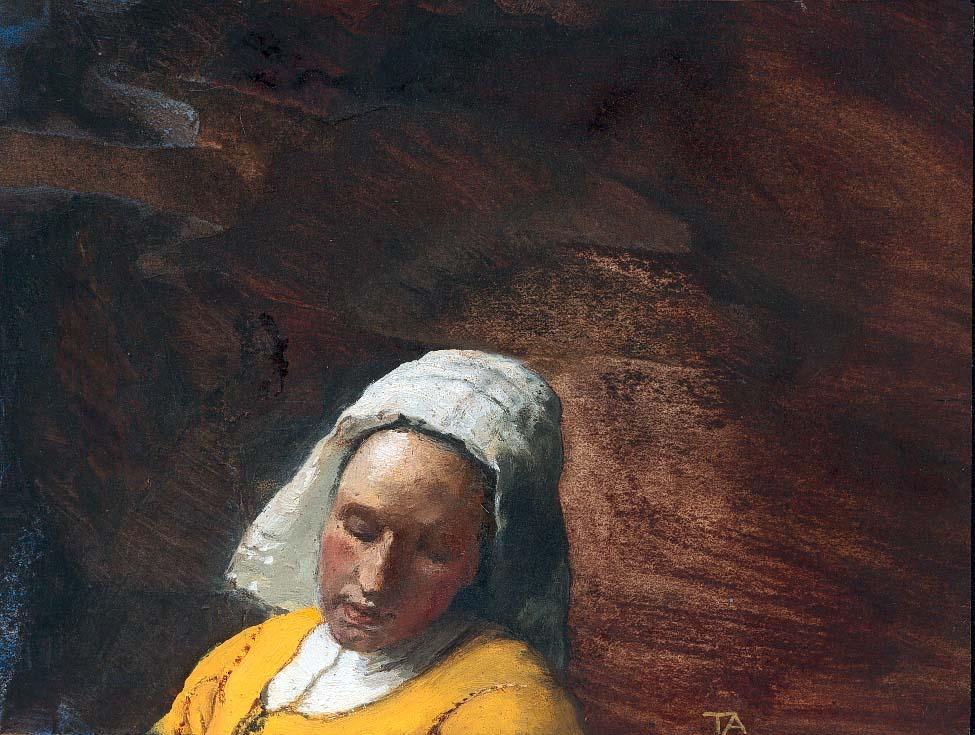 la lletera de Vermeer
