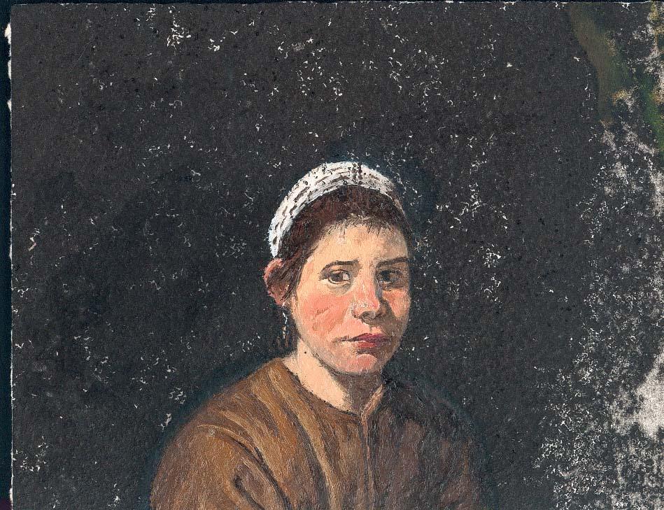 Marta de Vieja friendo huevos de Velázquez (col. Josep i Loreto)